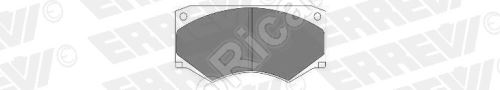 Brzdové destičky Iveco TurboDaily 35-12, 45-12