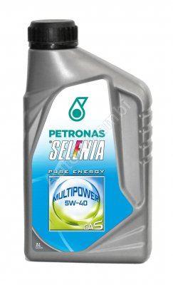 Olej motorový Selénia Multipower Gas 5W-40, 1L