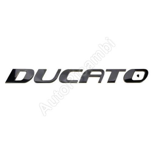 """Znak, nápis """"Fiat Ducato"""""""