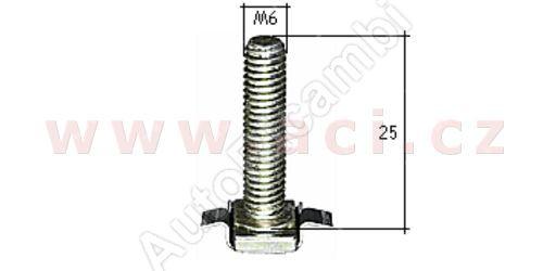 kovová příchytka s vnějším závitem (10ks)