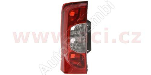 Zadní světlo Fiat Fiorino 07> levé, bez objímky (1 dveře)