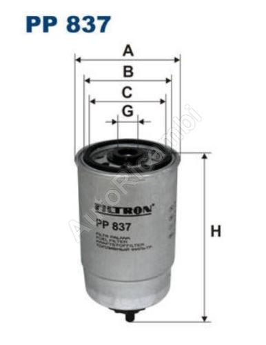 Palivový filtr Fiat Ducato 230 2,5D