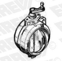 Klapka motorové brzdy Iveco EuroCargo