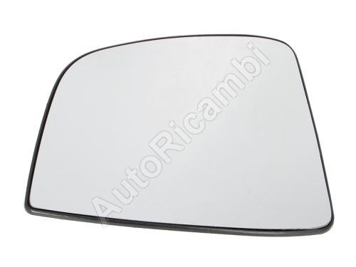 Sklo zrcadla Fiat Doblo 2010> pravé, s držákem, nevyhřívané