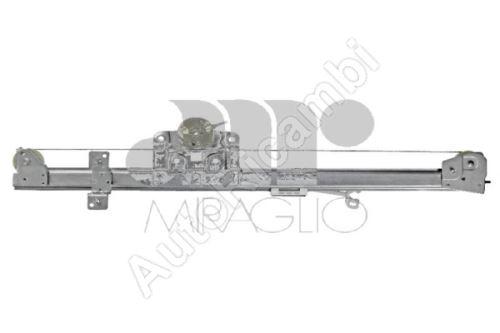 Mechanismus okna Fiat Ducato 250, 2014> elektrický pravý, (2-pin) bez motorku
