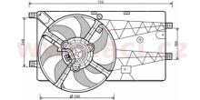 Sahara komplet Fiat Fiorino 1,4I 8V/HDI 1,3 MJTD 07> bez klimatizace
