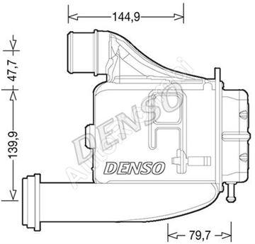 Intercooler Iveco Daily 2014> 3,0 vodní