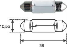Žárovka 12V 5W C5W sufitová