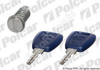 Vložka zámku předních dveří Fiat Doblo +2 klíče