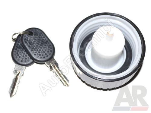 Uzávěr nádrže Fiat Ducato 230 uzamykatelný s klíčem