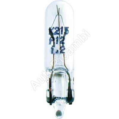 Žárovka 24V 1,2 W W2x4, 6D