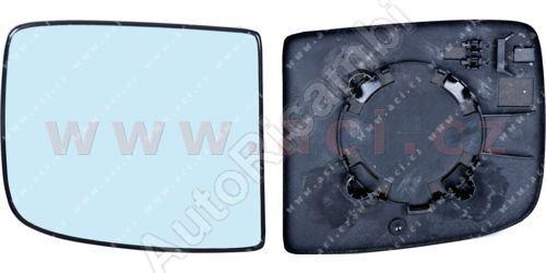 Sklo zrkadla Fiat Scudo 07> ľavé, horné, delené (2 sklá)