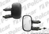 Zrcadlo Doblo 2000-09 levé manuální ovládání.černé