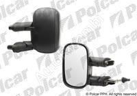 Zrcadlo Fiat Doblo 2000-10 levé, manuálně, černé