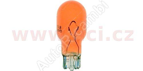 Žárovka 12V 18W do směrovky zrcátka oranž.