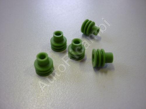 Gumička kabelu vodotěsná zelená - přechodka