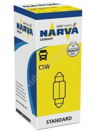 Žárovka 24V 5W C5W sulfitová
