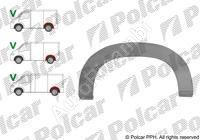 Lem zadného blatníka Fiat Ducato 230