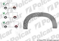Lem zadního blatníku Fiat Ducato 230/244