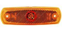 boční poziční světlo oranžové s kabelem 24V LED TRUCK  L=P