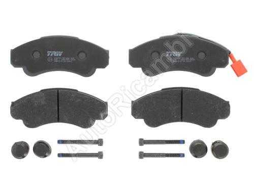 Brzdové destičky Fiat Ducato 02> přední