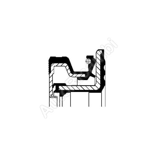 Gufero náboje Iveco TurboDaily 4x4 zadní
