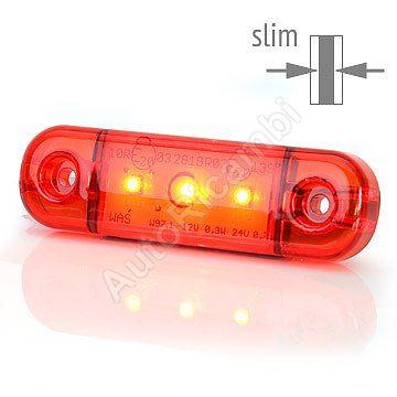 Poziční světlo červené - 3 LED