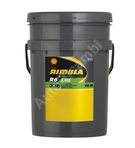 Motorový olej Shell Rimulla R6 LME 5W30 20l - SAE 228.51