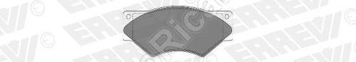 Brzdové destičky Iveco TurboDaily 59.12 přední