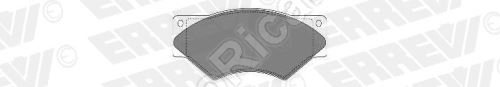 Brzdové destičky IvecoTurboDaily 59.12 přední