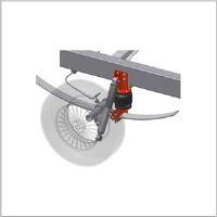 Doplňkové vzduchové pérování Iveco Daily 35S pero pod nápravou