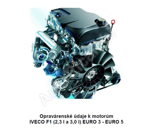 Údaje k motorům Iveco Daily 2,3 F1A + 3,0 F1C (PDF)