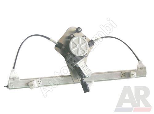 Mechanismus stahování okna Fiat Doblo 2000-10 elektrický, levý