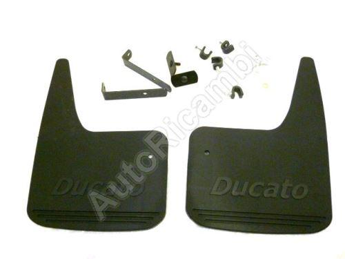 Zástěrky přední Fiat Ducato 244 s nápisem Ducato - sada