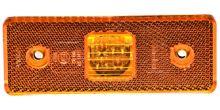 boční poziční světlo oranžové 24V (4 LED diody) TRUCK  L=P