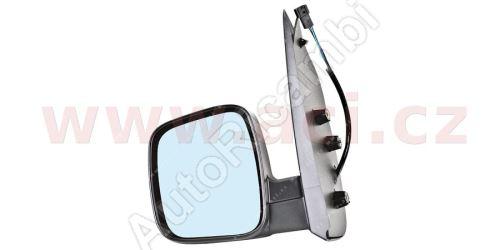 Zrkadlo Fiat Fiorino 07> ľavé. elektrické, vyhrievané