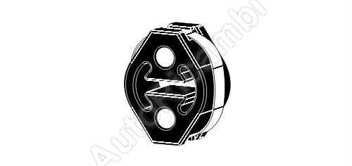 Guma - držák výfuku Fiat Ducato 244