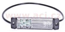 poziční světlo bílé s 50cm kabelem 24V (3 LED diody) TRUCK  L=P