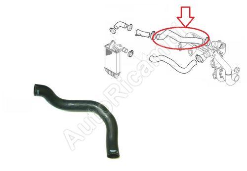 Hadice plnícího vzduchu Fiat Ducato 1994-2006 2,8 JTD od intercooleru do klapky